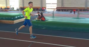 Karol beim 1500m Lauf