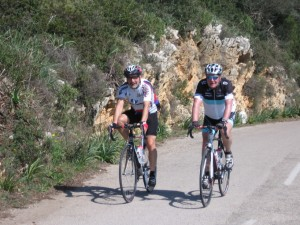 Raymond und Berthold auf Tour