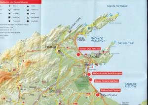 Alcudia als Ausgangsort für die Touren auf Mallorca