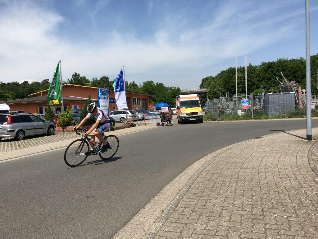 Luca Spiegel war abgehängt vom Hauptfeld