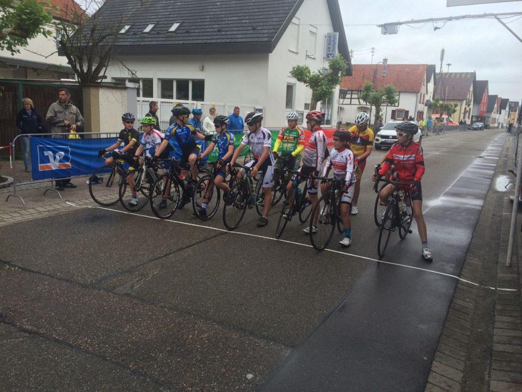 Luca Spiegel am Start